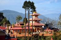 Dhirdham Temple at Darjeeling, Sikkim, India